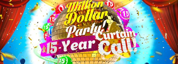 Grand Million dollar bingo party