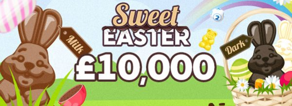 £10,000 sweet Easter at Tasty Bingo