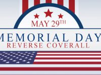 Memorial Day Reverse Bingo Coverall