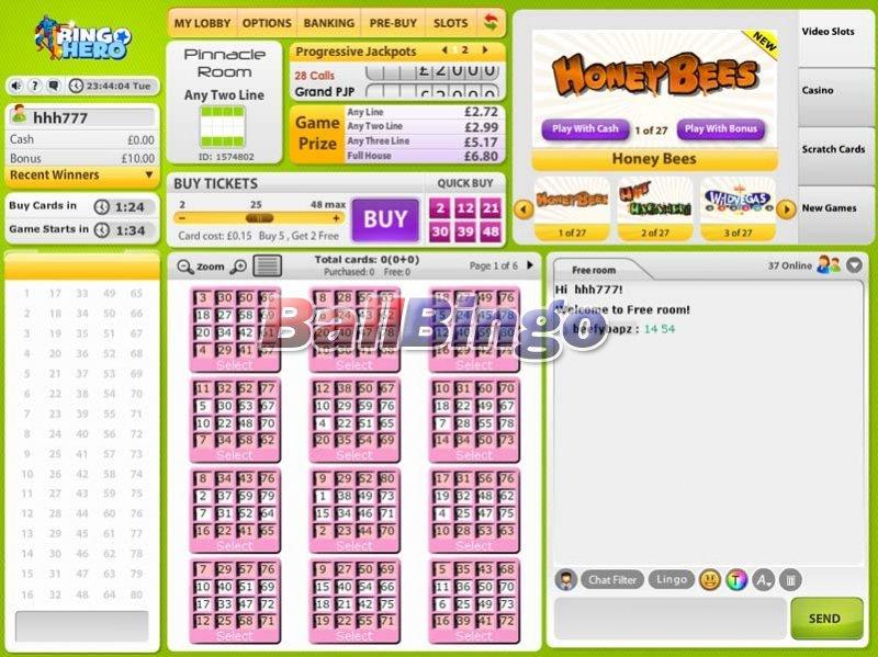 Bingo Hero 80