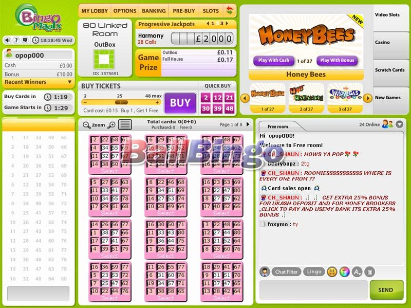 Bingo Magix games