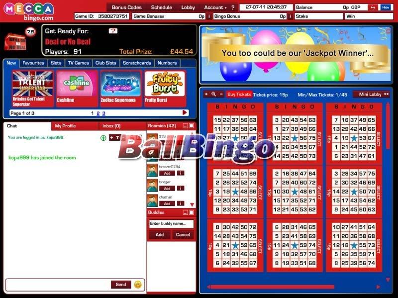Mecca Bingo 75