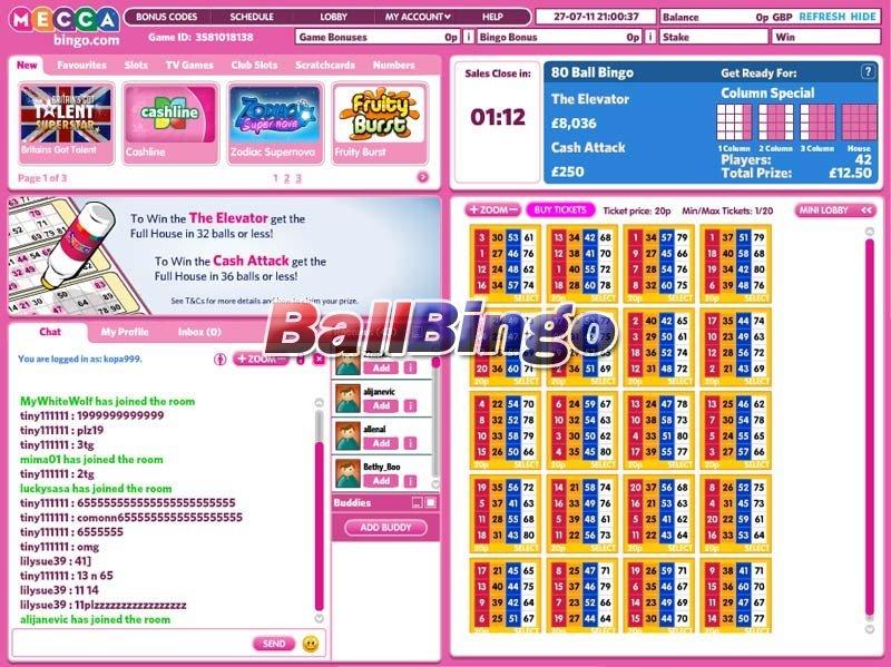 Mecca Bingo 80