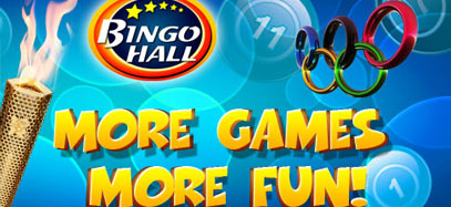 Olympic Bingo Fever Online at Bingo Hall