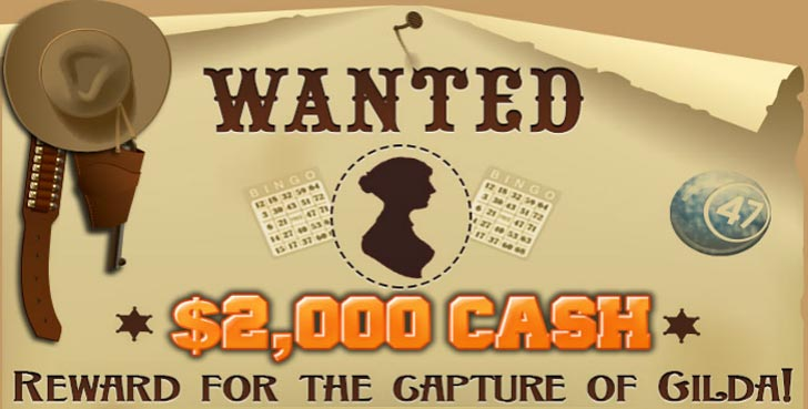 Gilda Idaho Bingo Promotion will help you win $2,000 Cash