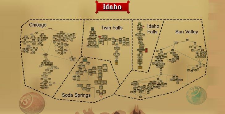 gilda bingo map
