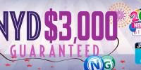 $3,000 New Year's Day Bingo