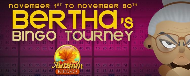 Bertha's Bingo Tourney Bingo Fun