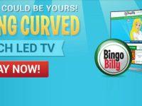 Bingo Billy's Black Weekend Samsung TV Giveaway