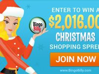 Bingo Billy to Give Away $2,016 Shopping Spree for the Holidays