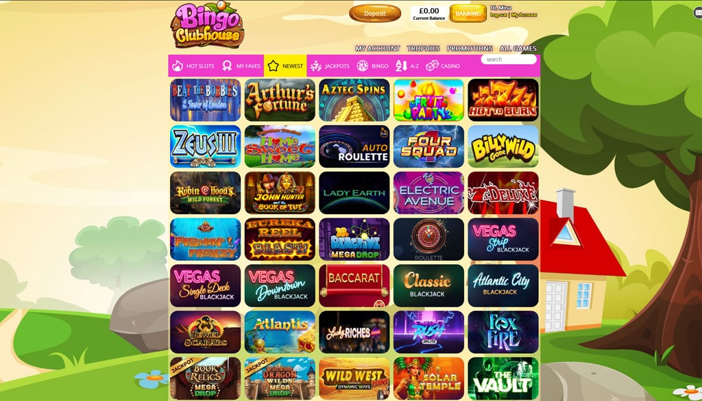 bingo clubhouse slots