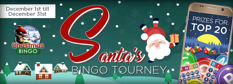 Santa's Bingo Tourney Christmas Bingo