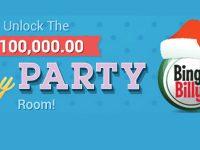 $100,000 Holiday Party this Saturday at Bingo Billy