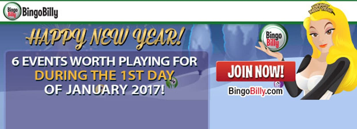 Break Out The Bubbly: Bingo Billy ushers in the New Year with major Promotions