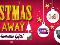 Christmas Giveaway and Fantastic Gifts at Bingo Fest