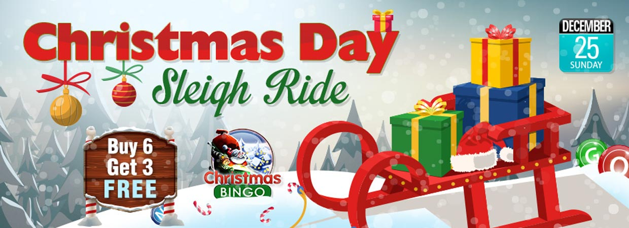 Christmas Bingo Day Sleigh Ride