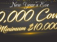 New Year's Eve $50,000 Coverall minimum $10,000 Event