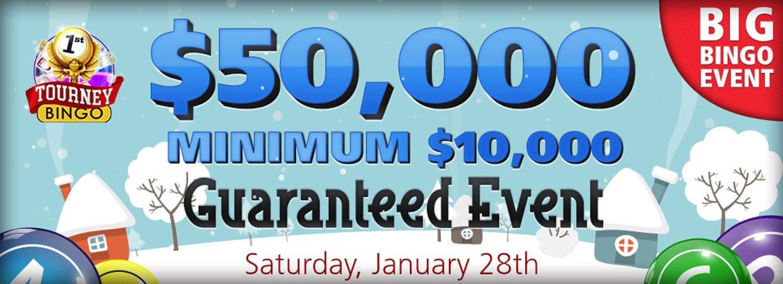 Big Bingo Event Huge Cash Prizes