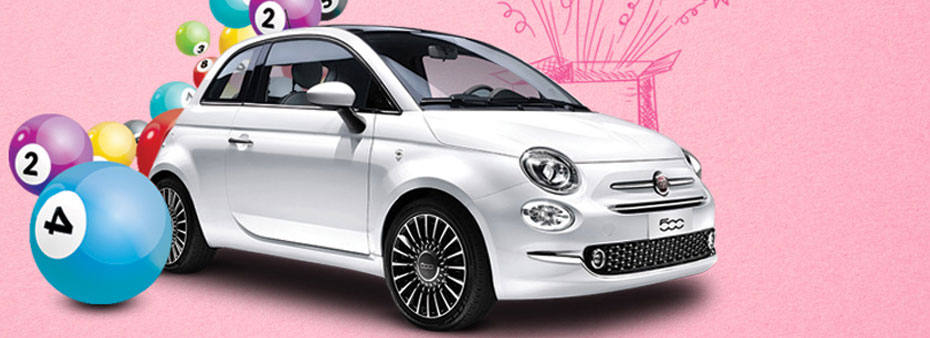 Absolute bingo madness – win a Fiat 500