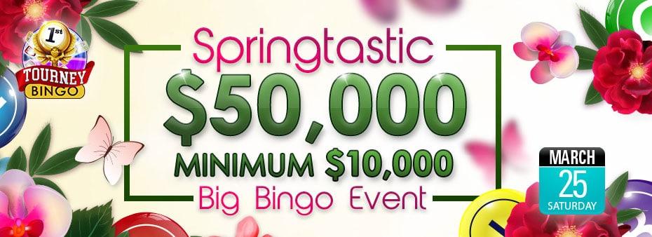 Bingo Fest $50,000 Coverall Min $10,000 Event
