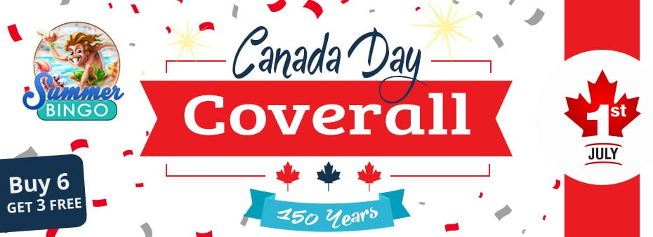 Canada Day Coverall On Saturday July 1st