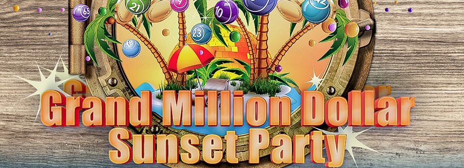 Grand Million Dollar Sunset Party at Vic's Bingo