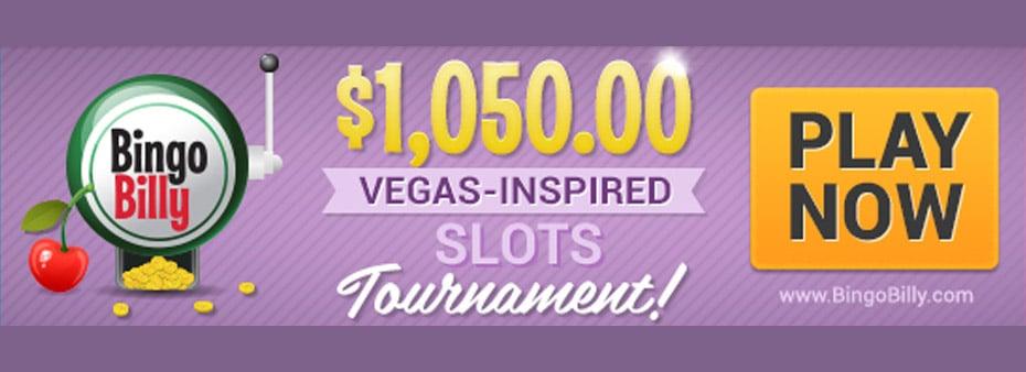 Bingo Billy hosts $1,050 Vegas Tournament This Weekend