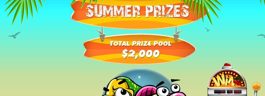 Summer Bingo, Summer Slots, Summer Prizes