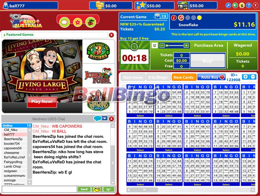 Bingo Australia 75