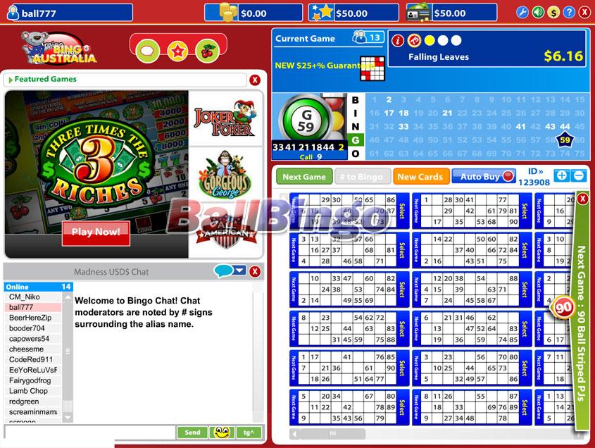 Bingo Australia 90