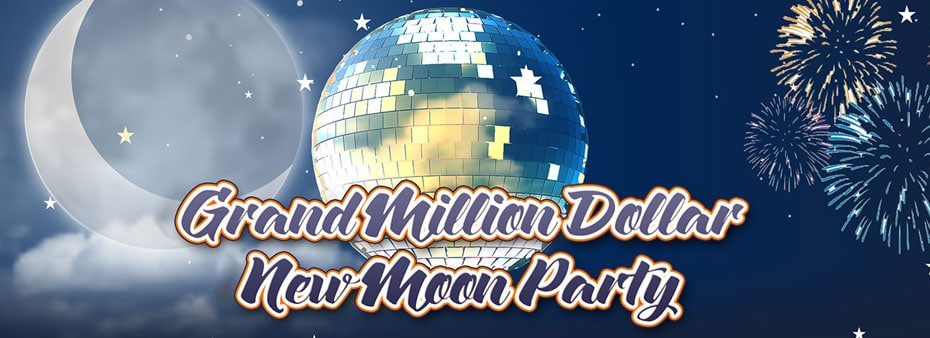 Bingo Hall Grand Million Dollar New Moon Party