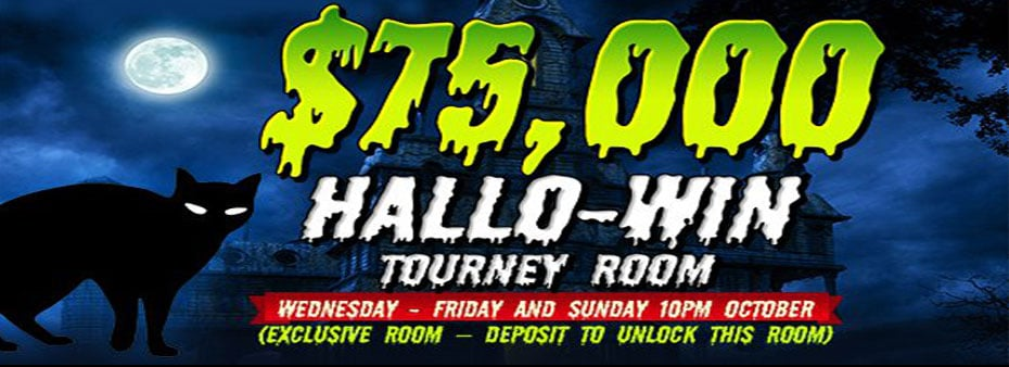 Amigo Bingo $75,000 Hallo-Win Tourney Room