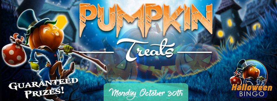 Pumpkin Halloween Treats at BingoSpirit