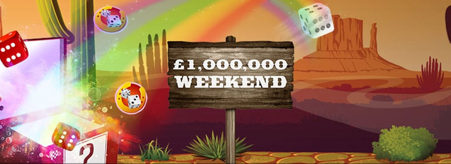 Mecca Bingo £1 million bingo prizes to be won all weekend
