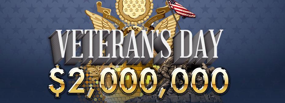 Bingo for Money Veteran's Day Grand Million Dollar Party