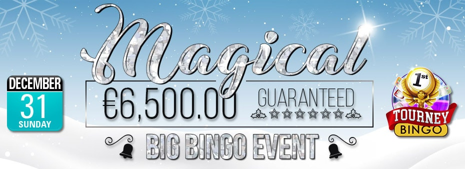 Magical €6,500 Guaranteed Bingo Event