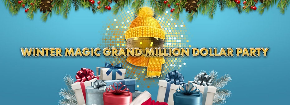 Winter Magic Grand Million Dollar Bingo Party