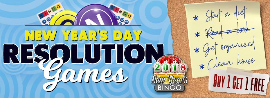 New Year's Day Resolution Games