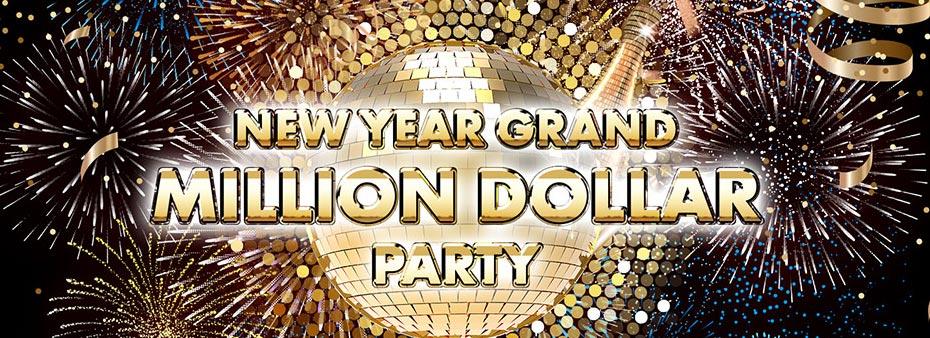 New Year Grand Million Dollar Party at Visc's  Bingo