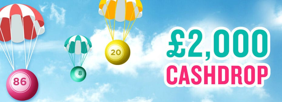 £2K Cash Drop at Gone Bingo