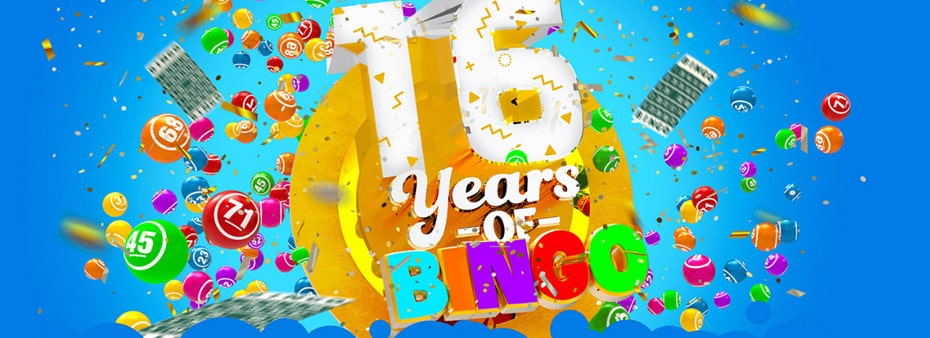 16 Years of Bingo Anniversary Pack