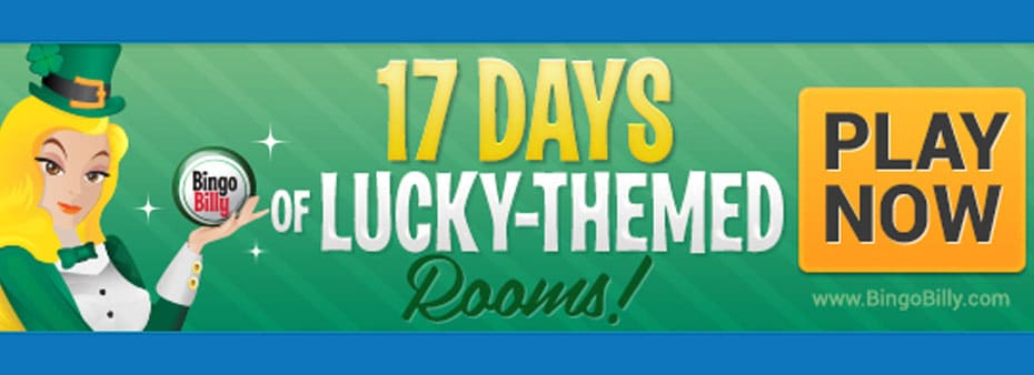 Experience the Luck of the Irish with 17 Days of Lucky-Themed Rooms