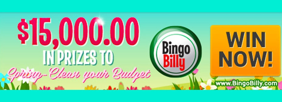 $15,000 in prizes to Spring-clean your budget