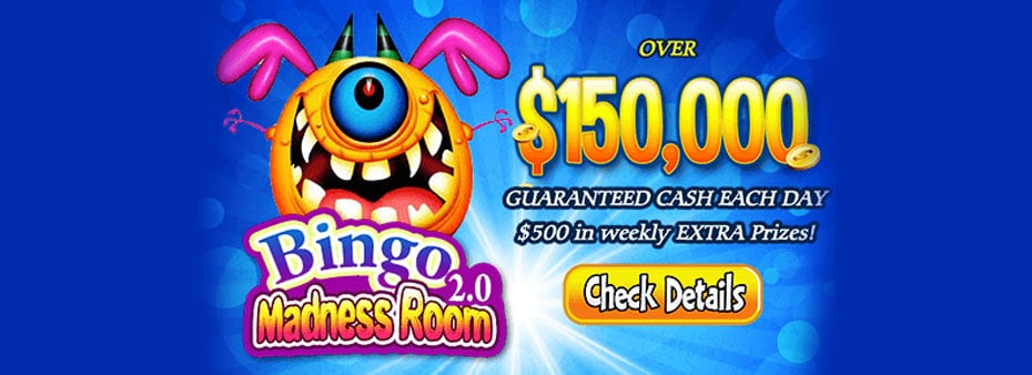 Bingo Madness Room – 24/7 Chat and Bingo Games