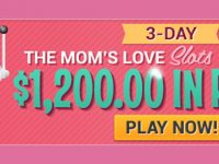 3-Day $1,200 Slots Tournament Headlines Big Mother's Day Weekend