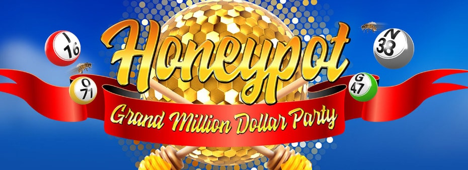 Honeypot Grand Million Dollar Bingo Party