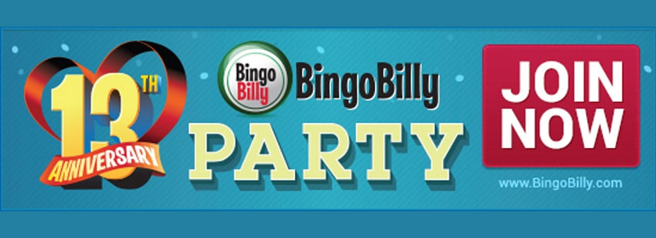 BingoBilly Hosts 13th Anniversary Countdown Throughout June