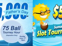 $5,000 Father's Day 75 Ball Bingo Tourney Hour Sunday