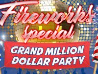 Fireworks Special Grand Million Dollar Party