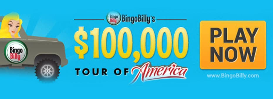 BingoBilly hits the road in style with $100,000 Tour of America